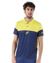 POLO BULLPADEL CONVAL AZUL AMARILLO