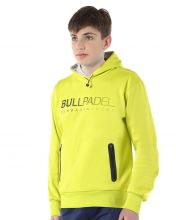 SWEATSHIRT BULLPADEL CERAMIC CITRON JUNIOR
