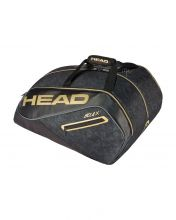 PALETERO HEAD TOUR TEAM PADEL MONSTERCOMBI NEGRO DORADO