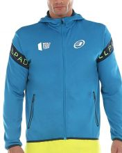 SUDADERA BULLPADEL SNAG AZUL AT�MICO