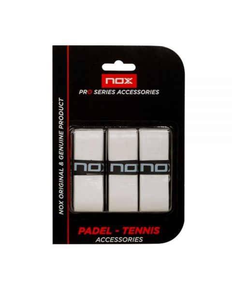OVERGRIP NOX PRO EXTRA GRIP BLISTER 3UD BLANCO