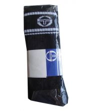SERGIO TACCHINI BLACK TRIBAL SOCKS