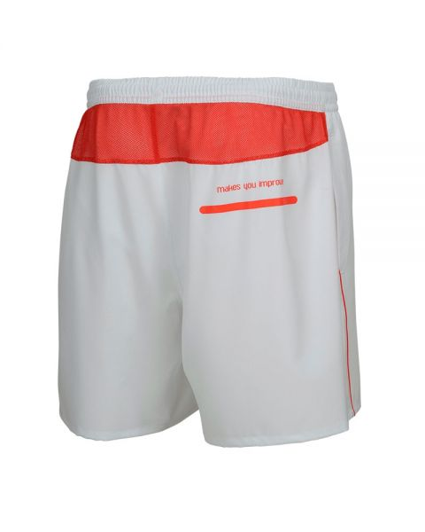 NOX TEAM WHITE LOGO RED SHORTS