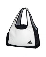 BOLSA ADIDAS WEEKEND BAG 2.0 BLANCO NEGRO