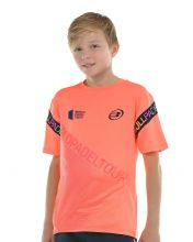 T-SHIRT BULLPADEL SIPRE ORANGE ENFANT