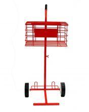 CHARIOT � BALLES SOFTEE 80 BALLES ROUGE