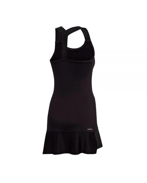 Negligencia Derivar Mujer hermosa  Vestido ADIDAS Gameset Y negro - Ajuste perfecto a la silueta