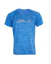 T-SHIRT SIUX SPECIAL ROYAL BLUE VIGORE LOGO SILVER