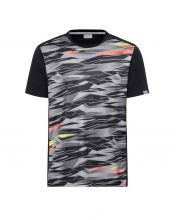 CAMISETA HEAD SLIDER NEGRO GRIS