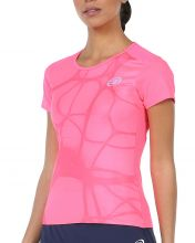 T-SHIRT BULLPADEL IMPERIA FLUO PINK WOMAN