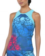 BULLPADEL IRUS BLUE PRINTED T-SHIRT WOMAN