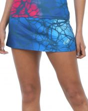 SKIRT BULLPADEL IZASKUN BLUE WOMAN