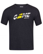 CAMISETA BABOLAT EXERCISE FLAG MESSAGE TEE NEGRO