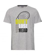 CAMISETAS HEAD RETURN GRIS