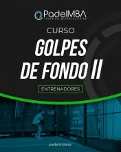 PADEL MBA TRAINERS GROUND STROKES II