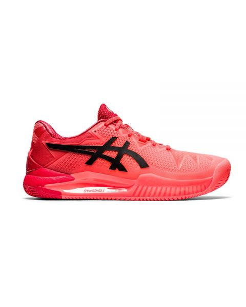 ASICS GEL RESOLUTION 8 CLAY TOKYO CORAL RED 1041A197 701