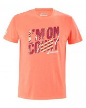 CAMISETA BABOLAT EXERCISE MESSAGE CORAL