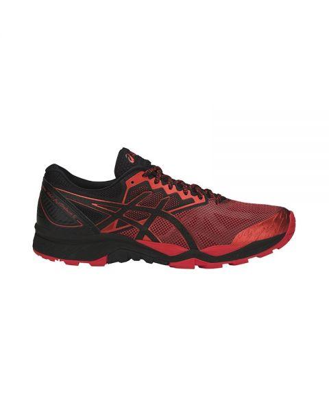 ASICS GEL FUJITRABUCO 6 RED BLACK T7E4N 9023 6af8cfc81a22c