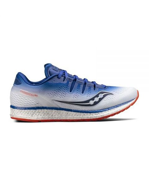 100% authentic 90641 e34a3 SAUCONY FREEDOM ISO BLEU BLANC S203555