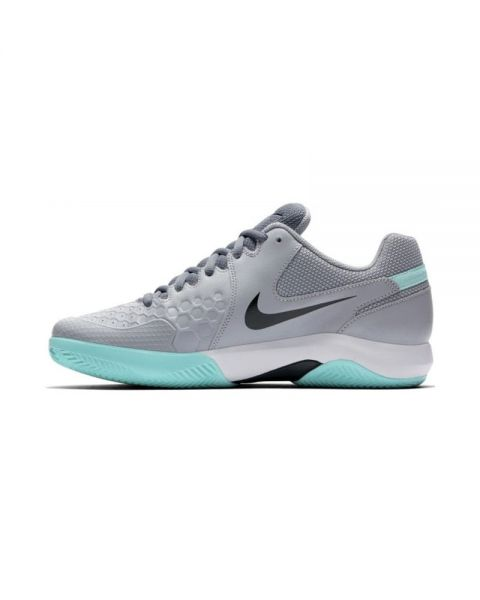 busto George Hanbury pedir  NIKE AIR ZOOM RESISTANCE CLAY GREY BLACK | High-range padel shoes