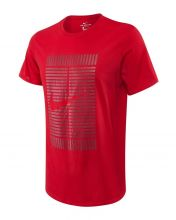 NIKE COURT TENNIS RED SHIRT