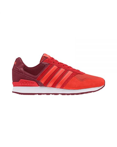 reputable site 049b3 b63a7 ADIDAS NEO 10K BURGUNDY RED DB0470