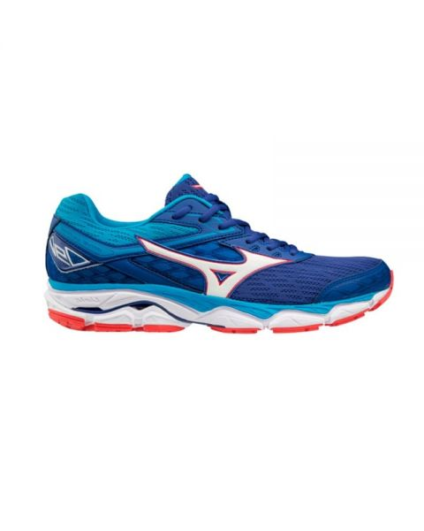 4f9964772f28 Mizuno Wave Ultima 9 Blue Silver - Running shoes with perfect fit