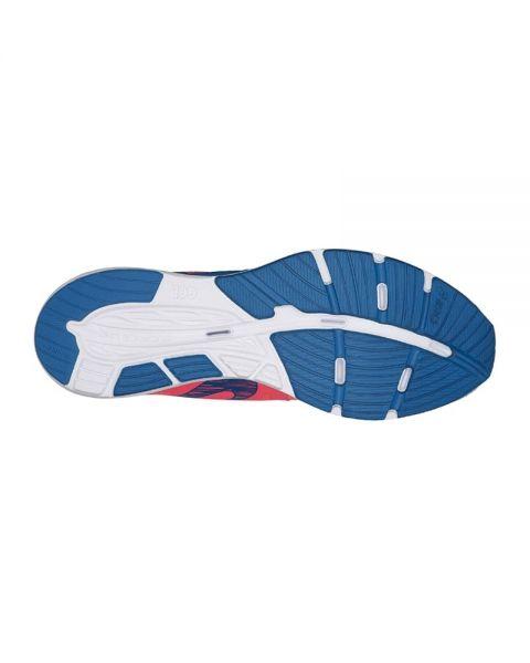zapatillas asics gel-451 coral blanco azul