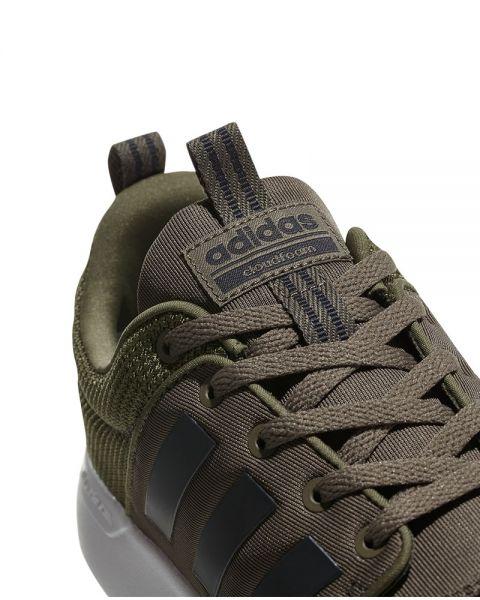 adidas neo gris y verde