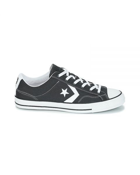 61337aaa51 Converse Star Player Ox Dark Grey - With flat laces
