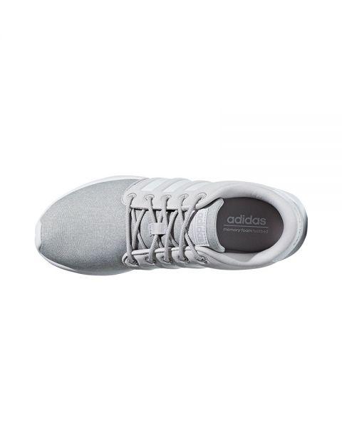 c714dac15ba98 Adidas Neo Cloudfoam QT Racer White Grey Women - Fashionable