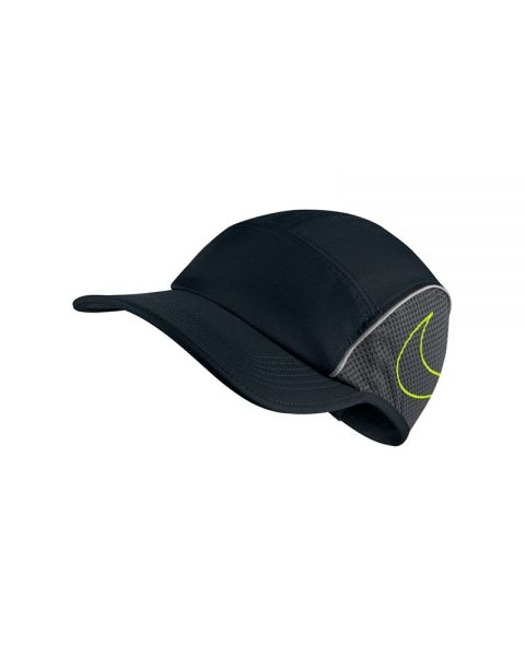 Gorra Nike Arobill Cap Run AW84 Negro Gris c997601919d