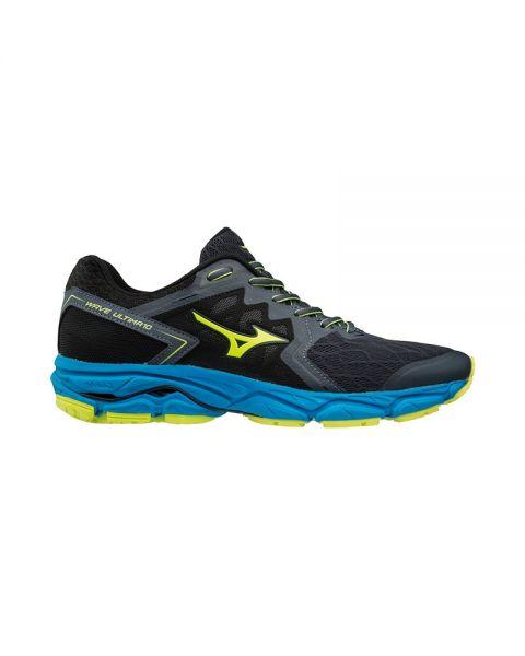 best sneakers ab7fc bc093 MIZUNO WAVE 10 ULTIMA BLACK BLUE J1GC180947