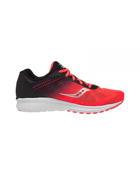 57e826fe3 Saucony Breakthru 4 Rojo Negro - Zapatillas running hombre