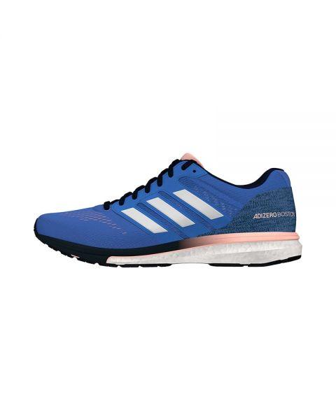 new style 1a0a3 30e84 ADIDAS ADIZERO BOSTON 7 BLUE WOMEN BB6499