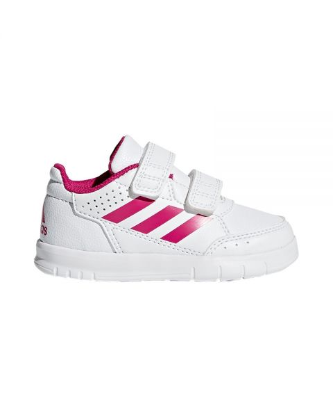 the latest 7ba64 8eec4 ADIDAS ALTASPORT WHITE PINK BABY GIRL BA9515