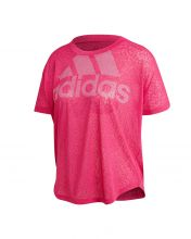 ADIDAS MAGIC LOGO PINK WOMEN SHIRT