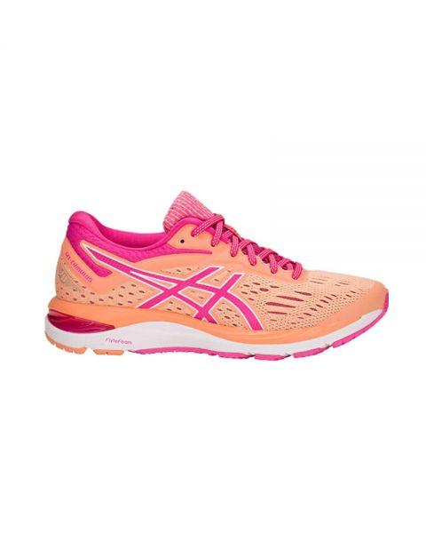 5151b0c406 Asics Gel Cumulus 20 Naranja Rosa Mujer - Zapatillas running de dama