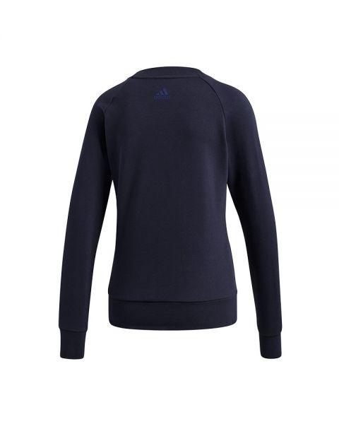 Adidas De Libertad Mujer Azul Sudadera Movimientos Allcap Essentials vfqwdpad