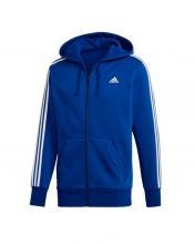 ADIDAS ESSENTIALS 3S BLUE WHITE SWEATSHIRT