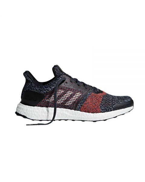 ADIDAS ULTRA BOOST ST BLACK RED CM8277