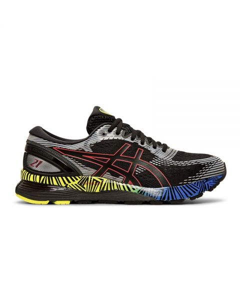 9c4fb998 ASICS GEL NIMBUS 21 LS BLACK MULTICOLOUR 1011A632 001