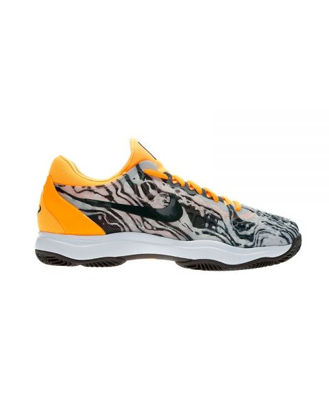 super popular a95f5 c701d NIKE AIR ZOOM CAGE 3 CLAY BLANC NOIR JAUNE NI918192 008