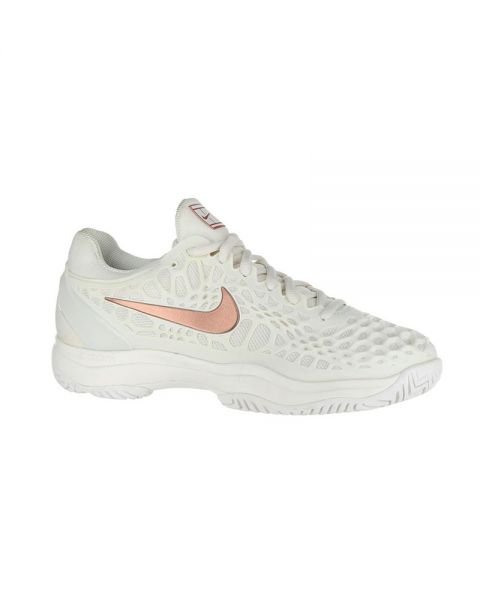 5260759f1dd8a Nike Air Zoom Cage 3 Clay white women - Padel shoes