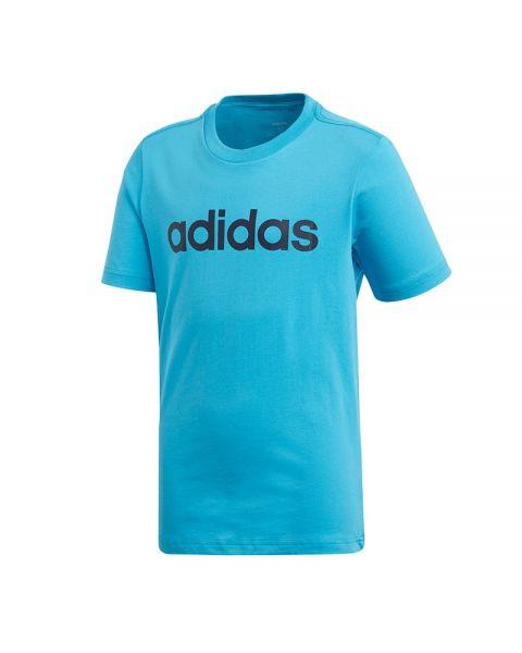 f2d3a62a2 Camiseta ADIDAS Essentials Linear Logo Azul Niño - Mayor suavidad