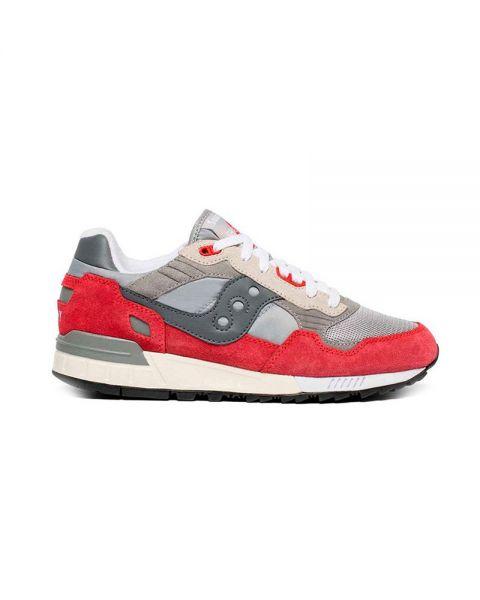 341cd9e1 Saucony Shadow 5000 Vintage grey red - TPU heel