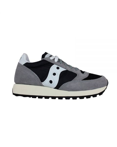 big sale c522a 8b7f8 SAUCONY JAZZ ORIGINAL VINTAGE GREY BLACK S70368-37