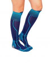 HG-VINSON NAVY BLUE TECHNICAL SOCKS
