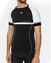 HG SPORT ADESSO BLACK WHITE COMPRESSIVE SHIRT