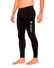 HG SPORT SILVER BLACK LEGGINGS